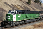 BNSF 9279 SD60M 